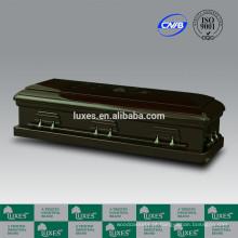 Caixão de madeira estilo americano completo sofá caixões de Design chinês LUXES
