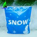 Decoração de casamento de Natal ornamento de neve artificial
