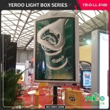 Street light post advertising poster display PVC Foaming board