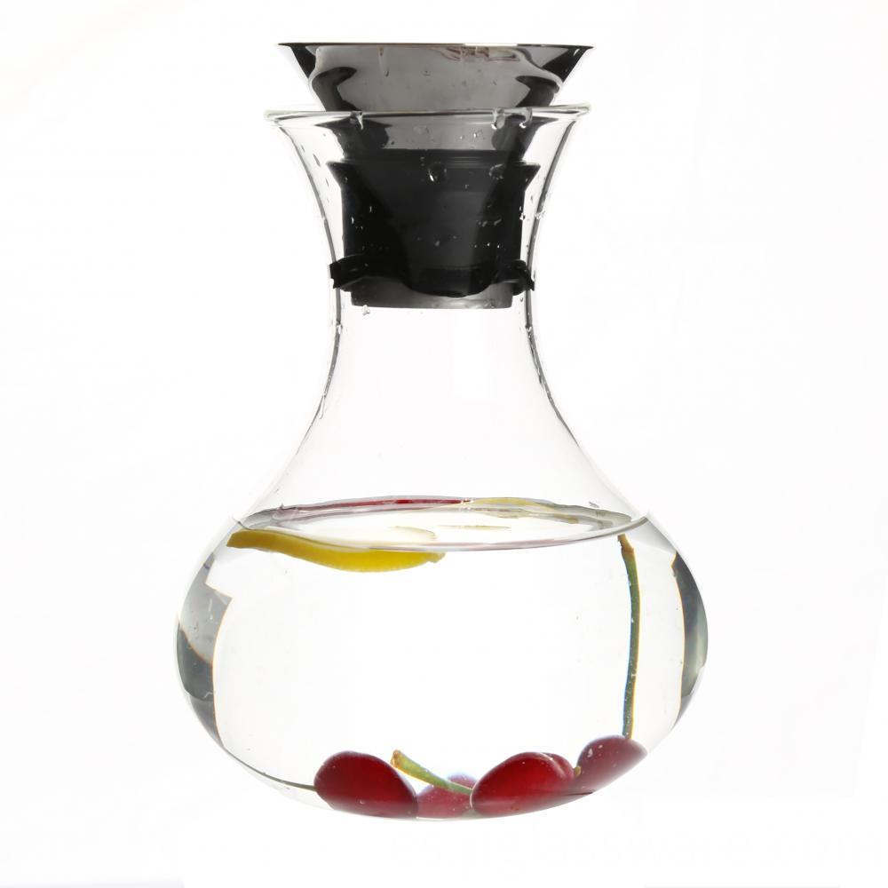 Hotcold Glass Water Pitcher