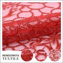 OEM мягкая водорастворимая ткань шнурка вышивки с отверстиями