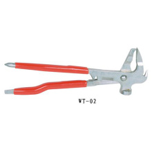 Wheel weight pliers Tire repair tool