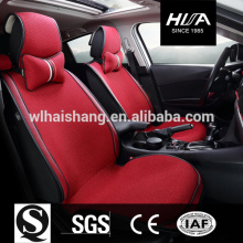 Leather Polyester Car Accessories Seat Covers newly designed for Red Color