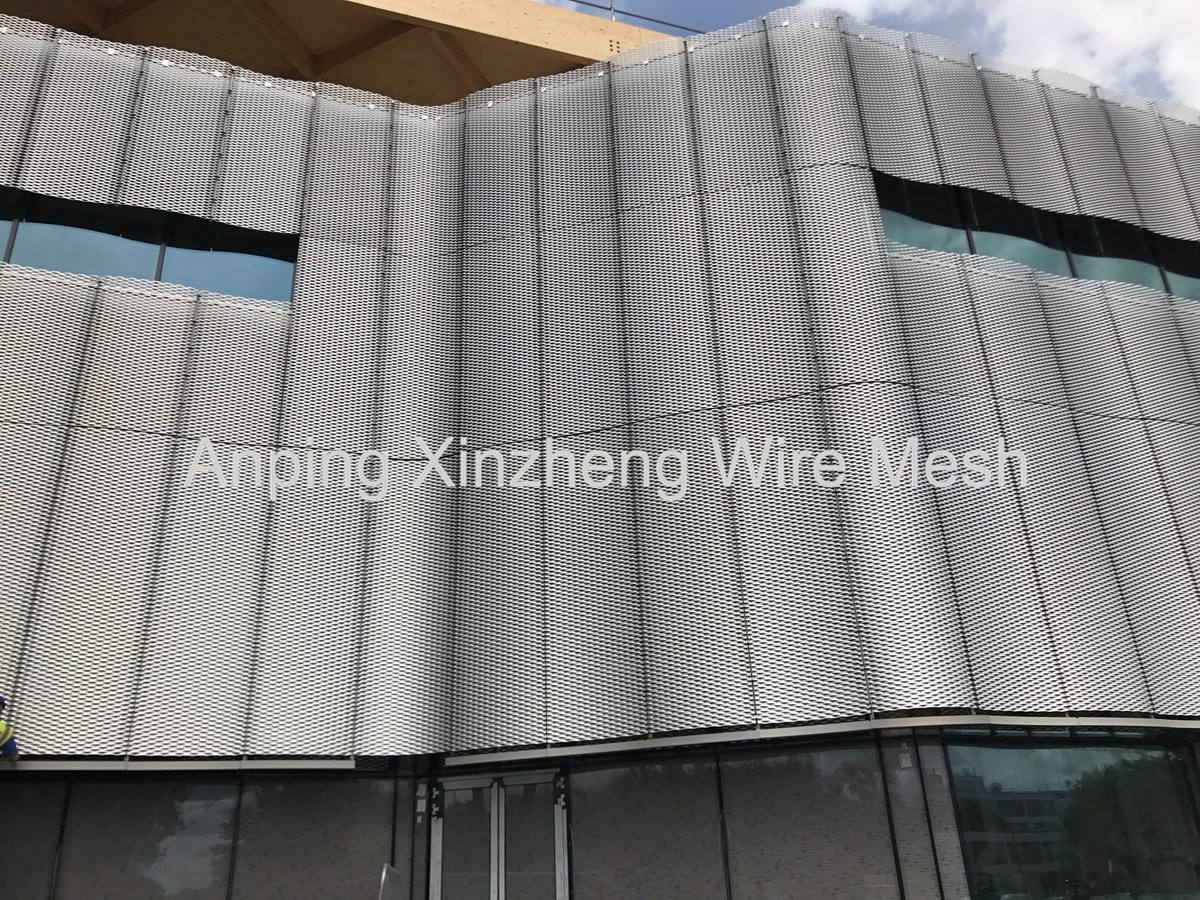 Expanded Steel Cladding