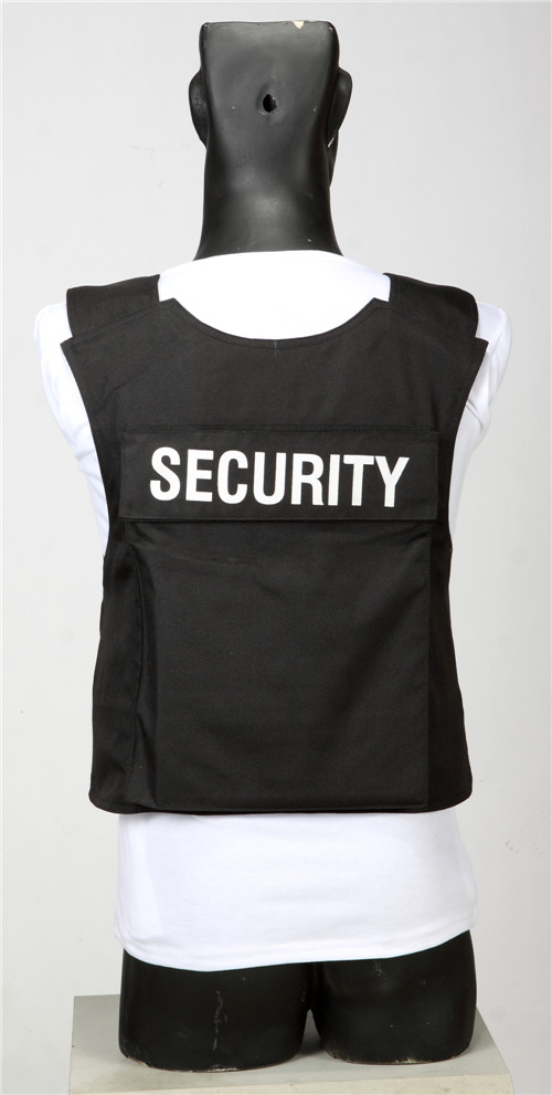 Black Soft Anti-stab & Bulletproof Vest