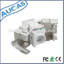Utp cat 5e rj45 jack clé / amplificateur modulaire / rj45 puce modulaire / connecteur modulaire modulaire