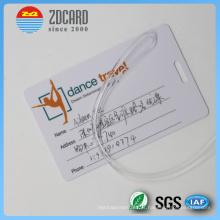 Imprimindo a etiqueta de bagagem de viagem com as tags de nome de assinatura