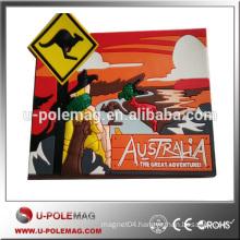 Flexible magnet Back with Soft PVC Fridge Magnet