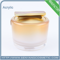 New design wholesale cosmetic jar container acrylic packaging container jar