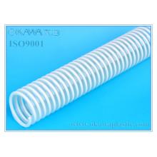 Resistência química PVC mangueira para entrega e sucção, química