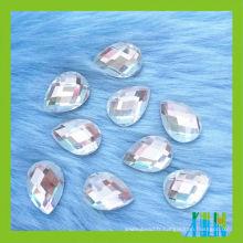 Wholesale haute qualité en gros larme plat miroir en verre de retour en pierre