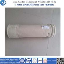El colector de polvo PPS compuso la bolsa de filtro no tejida para la planta de asfalto de la mezcla