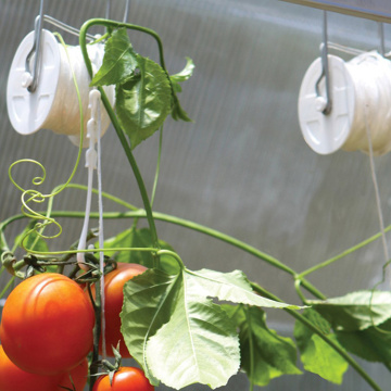 Greenhouse Tomato Plant Accessory Trellising Roller Hook