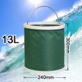 13 Litres Camping Seau De Pêche En Plastique