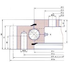 Torriani Flange Slewing Ring E. 505.20.00. C (Série E. 20. type C)