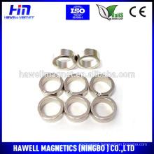 N42, N45, N50, N52 strong force magnet, nickel ndfeb ring magnet