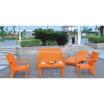 Canapés fauteuils modernes meubles extérieurs colorés