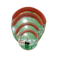 50cm Wholesale Unbreakable Orange Acrylic Plastic Indoor Theftproof Safety Convex Mirror, Buy Convex Mirror/