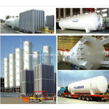 Lox/Lin/Lar Industry Gas Cryogenic Storage Tank Liquid Oxygen/Nitrogen/ Argon Gas Tank