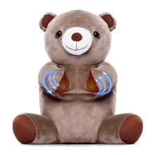 Electric Shiatsu Neck and Back Animal Shaped Body Massager Bear Shape Body Massager