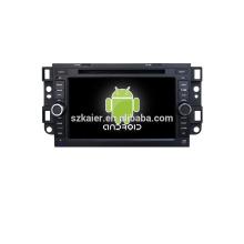 Quad core! Voiture dvd avec lien miroir / DVR / TPMS / OBD2 pour 7 pouces écran tactile quad core 4.4 Android système Chevrolet Captiva