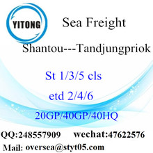 Shantou Port Sea Freight Shipping To Tandjungpriok