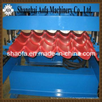 Máquina perfiladora de tejas