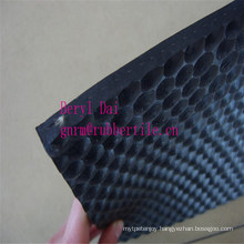 Tortoiseshell Pattern, Black Color, Cow Bed Rubber Sheets Roll
