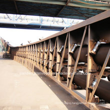 Material Handling System/ Pipe Conveyor/Curved Pipe Conveyor