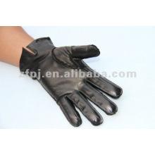 Cuir de gant de conduite de moto