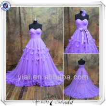 RSE82 Purple Tulle Christmas Party Formal Evening Dress