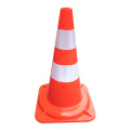 47cm Soft Flexible PVC plastic road traffic cones