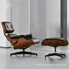 Charles Eames Lounge Chair mit Ottoman