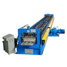 Máquina formadora de rolos de deck de metal