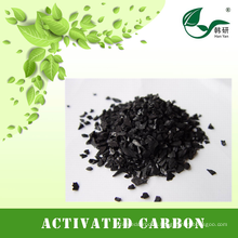 Iodine number 1000mg/g granulated coconut activated carbon for fine gold mining