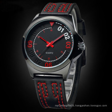 OEM Design Promotion Sport Rubber Watch with Japan Movement