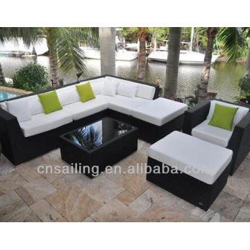 Canapé 7 places confortable et de luxe à nettoyage facile
