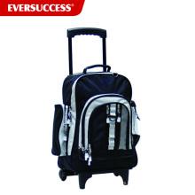 Mochila de la carretilla de la fábrica de China con las ruedas para el adolescente, bolso de la mochila eminente de la carretilla (ESV251)