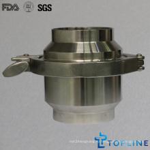 Сварной обратный клапан из нержавеющей стали (новый дизайн)