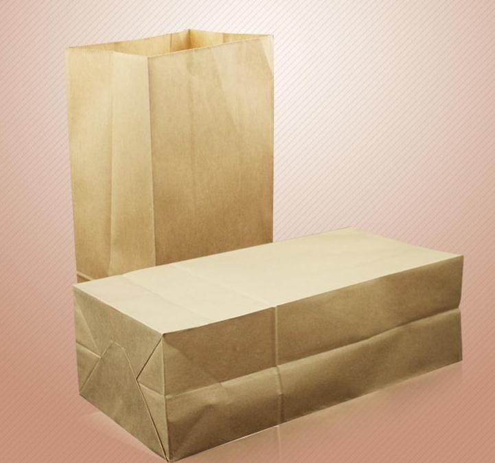 Big Kraft Paper Bag Without Handle