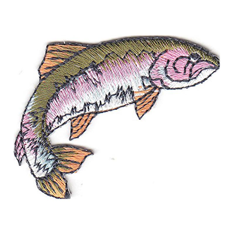 Freshwater Fish Embroidere Patch Patch