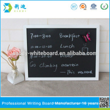china white frame chalkboard wholesale 2015