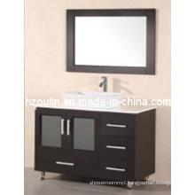 Solid Wood Bathroom Vanity (BA-1128)