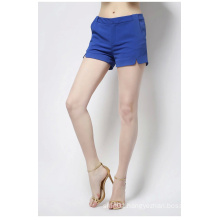Hot Sale 100% Cotton Fashion Design Ladies Shorts for Summer