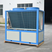 25HP Plastic Industrial Use Danfoss Compressor Air Cooled Water Chiller for Plastic Sheet Processing
