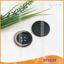 Botão de poliéster / botão de plástico / botão de camisa de resina para Brasão BP4228