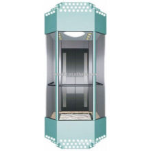 Panoramic Elevator with Hairless Stainless Steel