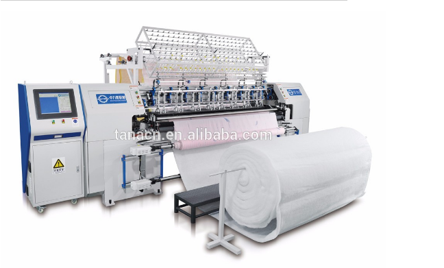 Terkomputerisasi Lock Stitch Multi Needle Quilting Machine