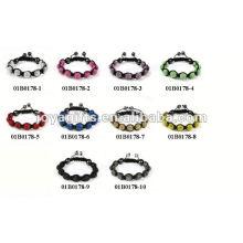 Модные оригинальные браслеты Shamballa