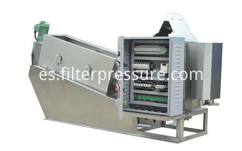 Food Beverage Plate Frame Filter Press 2